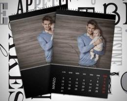 Calendario personalizzato per lui, idee regalo uomo e ragazzo
