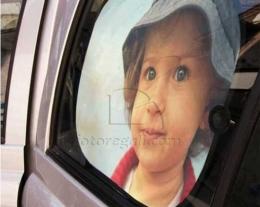 Parasole Auto personalizzato con foto, regali per bambini