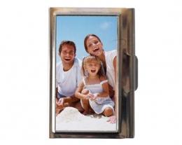 Porta biglietti o porta carte di credito con foto, regali per lui personalizzati