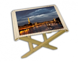 Sgabello personalizzato con foto, regali per lui