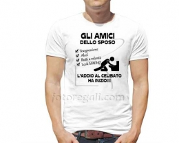 t-shirt divertente addio al celibato, regalo addio al celibato