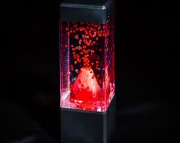 Lampada vulcano, regalo per lui lampada, idee regalo per la casa