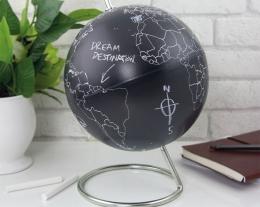 Mappamondo lavagna, regalo mappamondo, idee regalo per chi ama i viaggi