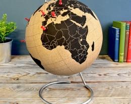 Regalo mappamondo sughero, idee regalo per chi ama i viaggi