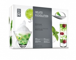 Set cocktail mojito molecolare, regalo per amanti dei cocktail e mojito, regali per lui alternativi