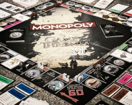 monopoli games of thrones idea regalo, regali per chi ama le serie tv, regalo appassionato cinema