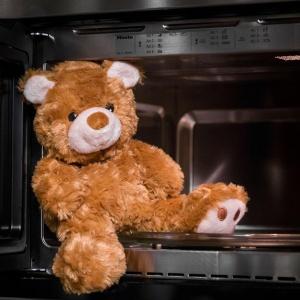 orsacchiotto caldo da scaldare, regalo autunnali ed invernale per bambini