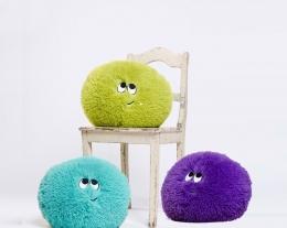 regalo cuscini piccoli mostri, regalo per bambini, regalo romantico