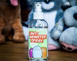 spray anti mostro regalo bambino, idee regalo bambini paura del buio