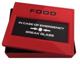 cassetta per biscotti da emergenza, regalo per un goloso, regalo per lui che ama i biscotti