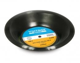 ciotola a forma di disco vinile, regali per lui che ama la musica, idee regalo originali musicisti