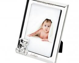 cornice orsetto personalizzabile con nome, regalo personalizzato battesimo, idee regalo nascita bambino