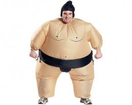 costume gonfiabile lottatore di sumo, regali addio al celibato, scherzi sposo