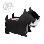 porta riviste in legno a forma di cane, regalo per la casa, regalo amanti animali