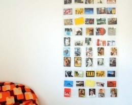 portafoto parete 50 tasche, regali per lui, regalo ragazzo