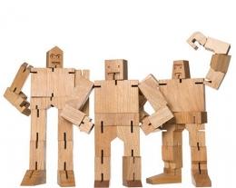 puzzle robot legno, regalo di legno bambini, regalo stimolante per bambino