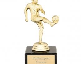 statuina re del calcio personalizzabile con incisione, regalo personalizzato calcio, regali personalizzati per lui