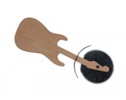 taglia pizza chitarra, regalo per gli appassionati di musica, regalo per chi suona la chitarra