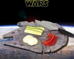 tagliere cucina star wars, regalo per appassionati di star wars