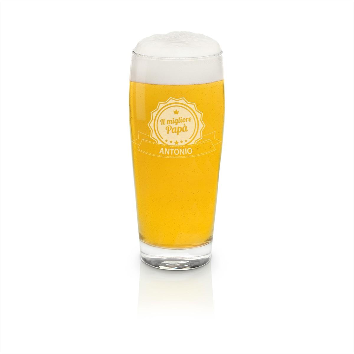 boccale da birra 200 ml personalizzabile, idee regalo per gli amanti della birra, idee regalo uomo
