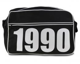 borsa a tracolla uomo personalizzabile con anno o iniziali nome, regali personalizzati, regali originali
