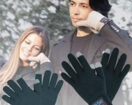 guanti di lana hi-call, regali tecnologici,regali per lui