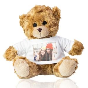 orso peluche personalizzabile con foto, regali personalizzati, regali per ragazzo