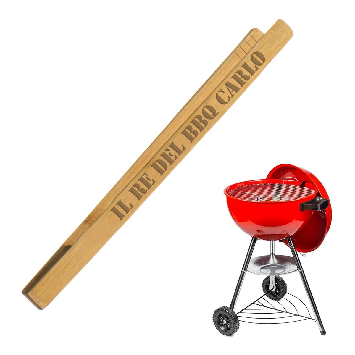 pinze barbecue personalizzate con nome, regali per gli amanti del barbecue, idee regalo per chi ama mangiare carne alla brace