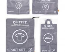 set da viaggio per sportivi, idee regalo per chi ama lo sport, regalo ragazzo sportivo