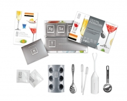 set per cocktail cucina molecolare, regali originali, regalo per chi ama i cocktails