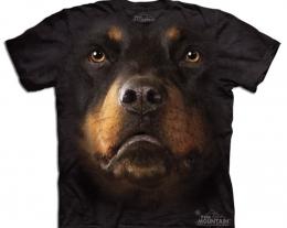 t-shirt rottweiler, maglietta per chi ama i cani, idee regalo divertenti per lui