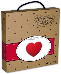 cuscino a forma di cuore da riscaldare, regalo romantico, regalo mesiversario