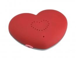 regalo romantico, idee regalo mesiversario, cuore magnetico registratore