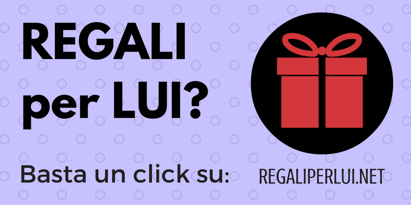 Regali per lui trova un regalo originale in un click for Idee per un regalo originale