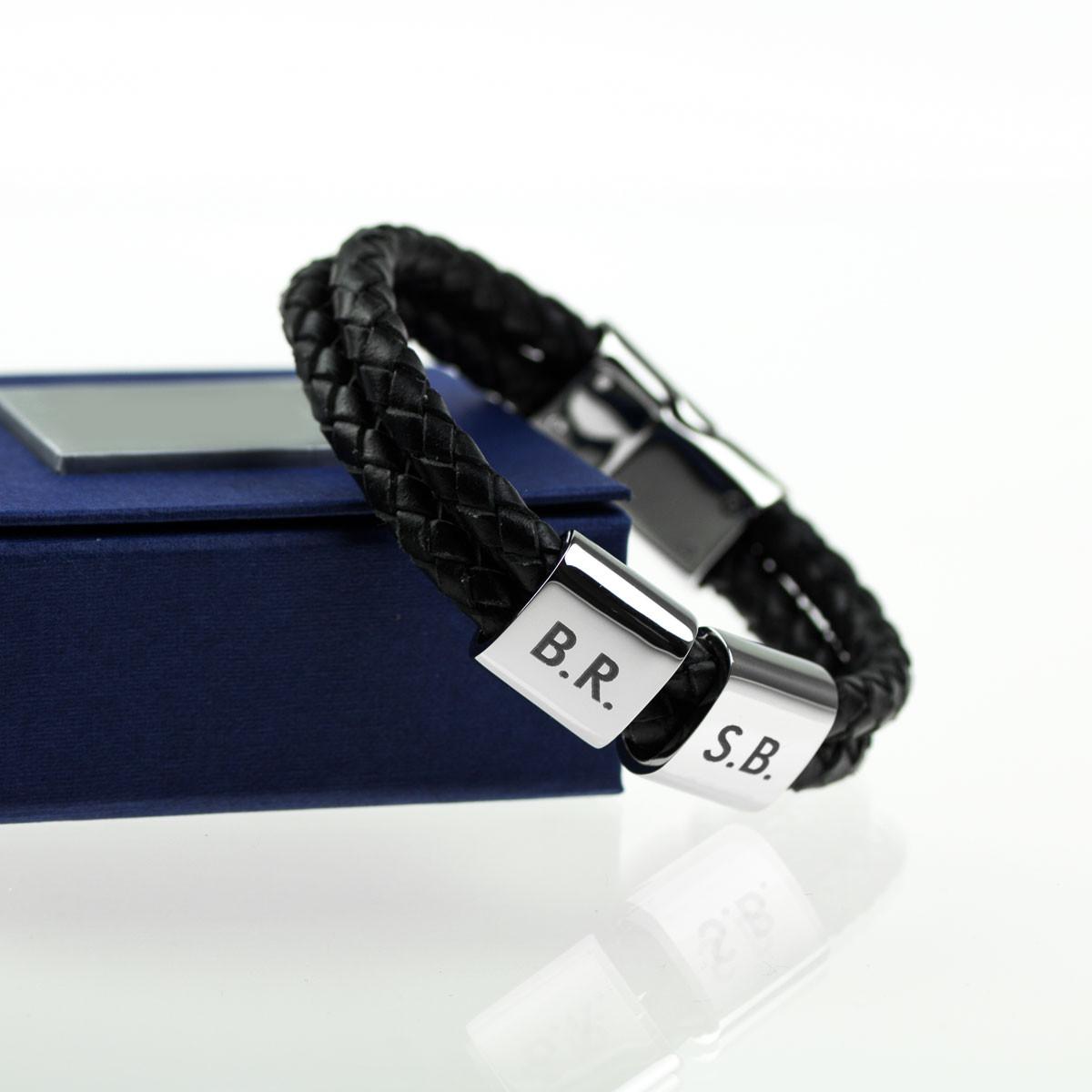 cinturino personalizzabile con iniziali, regali personalizzati