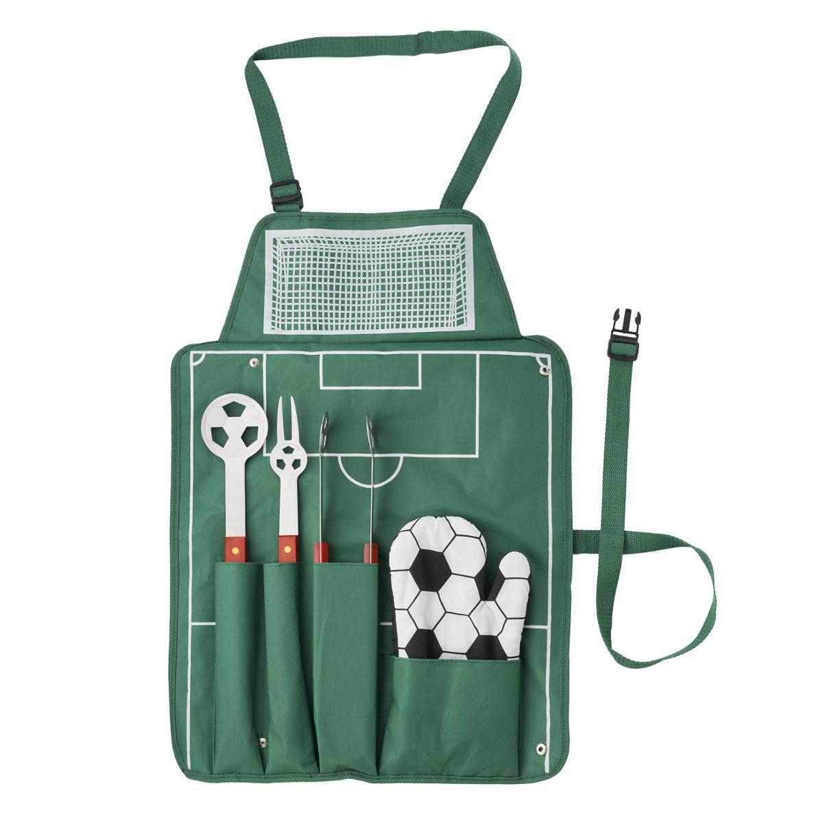 grembiule uomo per barbecue e partite di calcio, regali particolari per lui