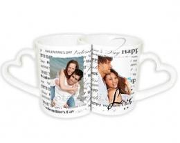 tazze coppia cuore, regali romantici, regali personalizzati