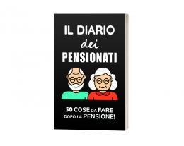 Il Diario Dei Pensionati, Regalo Pensione, Libro Divertente Pensionato