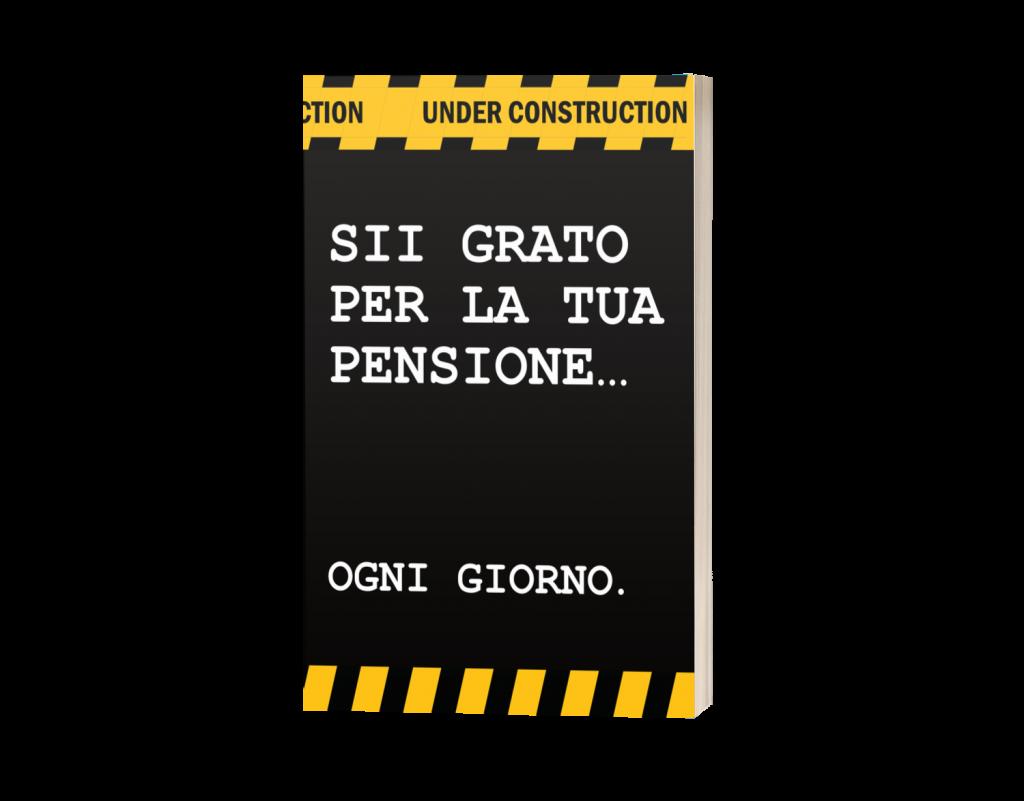 Diario della Gratitudine per Pensionati, Regalo Pensione uomo