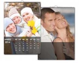 Calendario personalizzato con foto, regali personalizzabili per lui