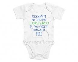 body con nome, regalo nascita, idee regalo neonato