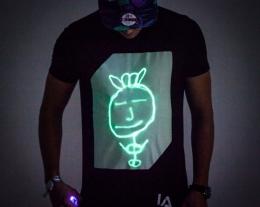 maglietta interattiva regalo, regali tecnologici per lui, idee regalo originali, regalo disco, regali per dj