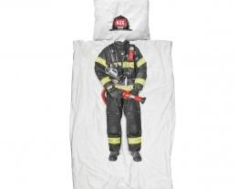 biancheria da letto pompiere, regalo bambino, idee regalo bambini