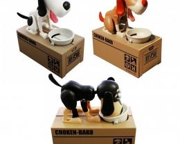 salvadanaio cagnolino, regalo bambino, idee regalo per chi ama gli animali