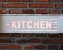 targa luminosa kitchen, regali originali per la casa, regalo design cucina