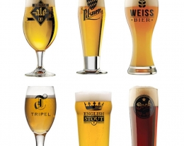 6 bicchieri birra dal mondo, regali per lui, idee regalo per chi ama la birra