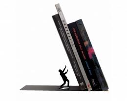 Ferma libri divertente, idee regalo spiritose, regali originali