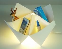 lampada porta oggetti, regali di design per la casa, regali utili per uomo