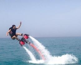 flyboard, regali per chi ama il mare, regali per lui