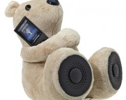 hi george, orsacchiotto autoparlante per smartphone, regalo romantico, regali san valentino